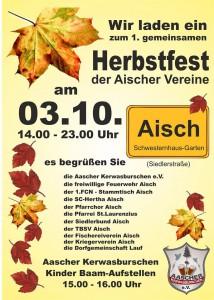 Herbstfest Aisch