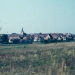 Blick auf Aisch vom Uttsberg aus